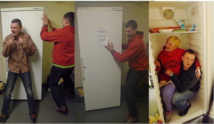Холодильник с сюрпризом