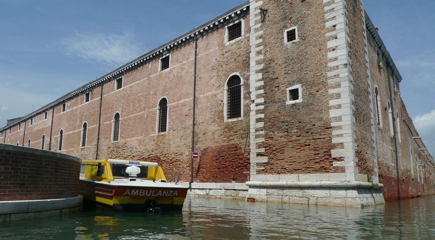 мед помощь в Венеции
